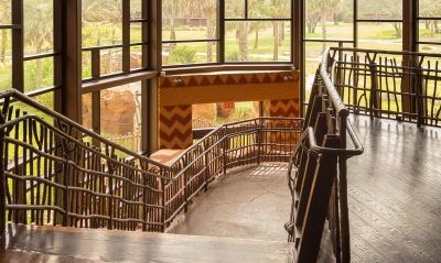 Animal Kingdom architectural metal and railing by Poma