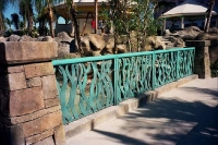 Custom railing metalwork for international export