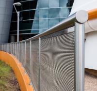 Custom exterior railing for the Kennedy Space Center.