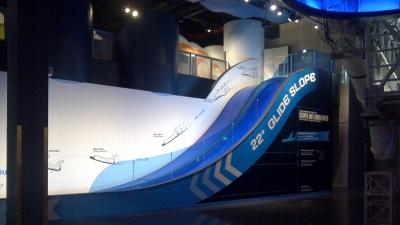 Atlantis Exhibit with custom-fabricated glass.