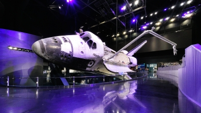 Atlantis Shuttle at the Kennedy Space Center.