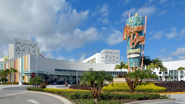 Cabana Bay facade by Poma.
