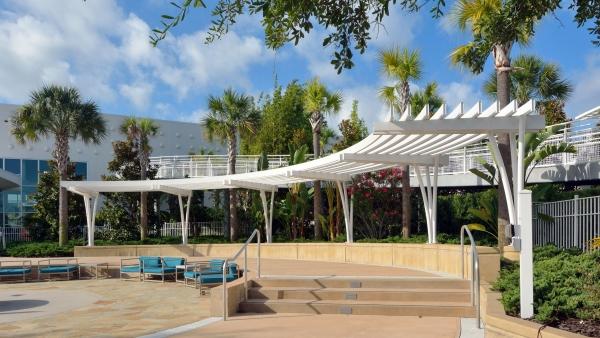 Cabana Bay canopy by Poma.