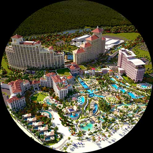 Rendering of Baha Mar Resort