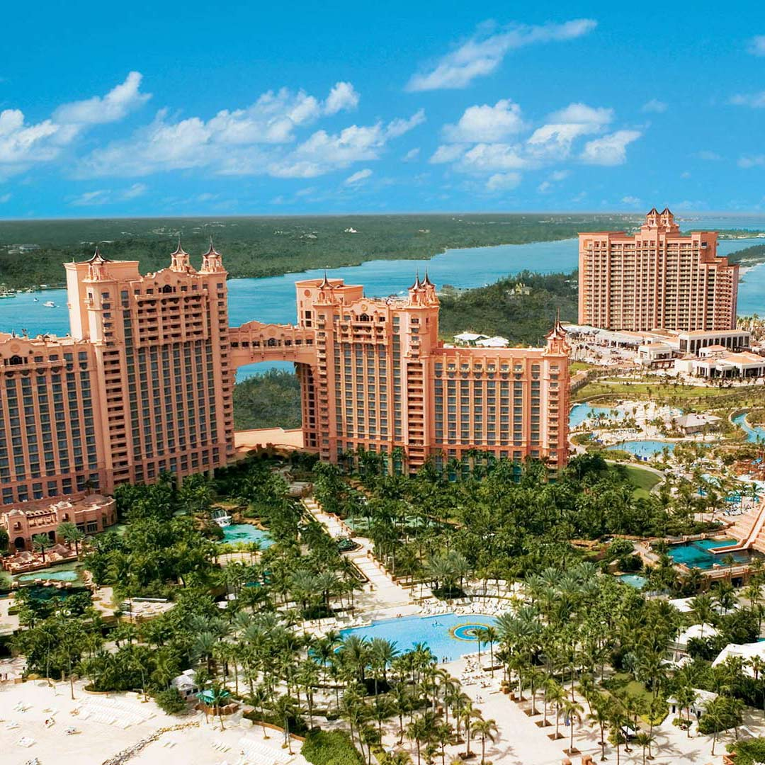 New Construction, fabricator for the Atlantis Bahamas Resort.