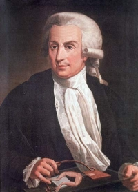 Painting of Luigi Galvini, father of the Galvanic Current.