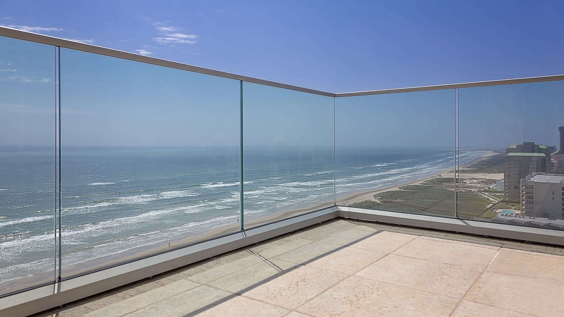 Padre Islands guardrail fabricator for Texas coastal living